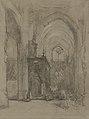 Johannes Bosboom - Gezicht op het oxaal van de St Janskerk te 's-Hertogenbosch.jpg