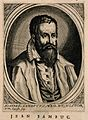 Johannes Sambucus. Line engraving by N. de Larmessin, 1682. Wellcome V0005195.jpg