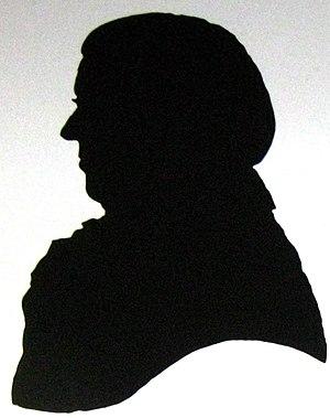 John Farey Sr. - John Farey, silhouette by White Watson.