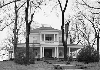 Bankhead House (Jasper, Alabama) - The Bankhead House in 1993.