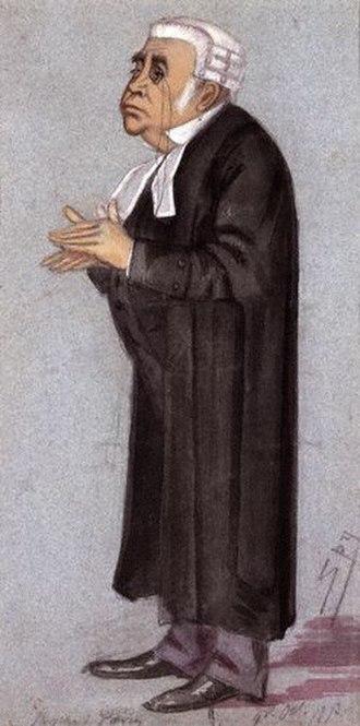 John Humffreys Parry - John Humffreys Parry, Vanity Fair caricature 13 December 1873
