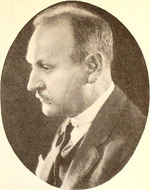 John S. Robertson - Photo of Robertson from Photoplay (October 1921)
