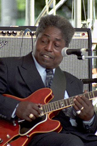 Johnny Shines - Shines performing at the 1991 Chicago Blues Festival