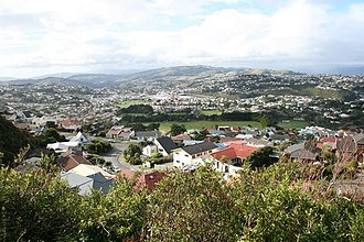 Johnsonville, New Zealand - A view of houses in Johnsonville