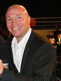 Jon Thaxton British boxer