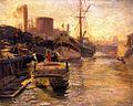 Joseph Kleitsch - Chicago River 1915.jpg