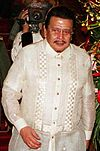 Joseph Estrada, thirteenth President of the Philippines