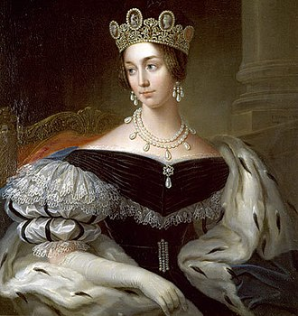 Duke of Galliera - Image: Josephine of Sweden & Norway 1837 by Fredric Westin