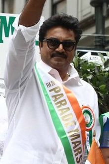 Journalist Swamy with Sarathkumar (cropped).jpg