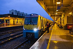 Journey Begins, first day of the new Transport for Wales franchise - Flickr - Dai Lygad.jpg