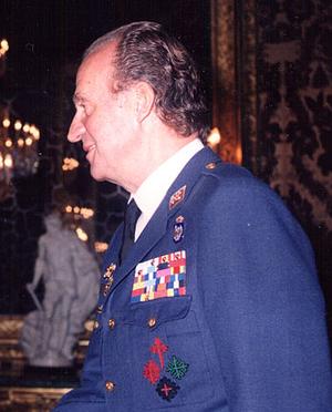 Air captain general - Image: Juan Carlos I (Cropped)