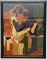 Juan gris, arlecchino seduto con chitarra, 1919.JPG