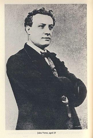 Жюль Верн в возрасте 25 лет. (ок. 1853 года).
