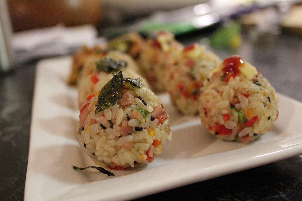 Rice ball - Wikipedia