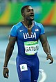 Justin Gatlin Rio 100m final 2016b-cr.jpg