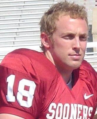 Jason White (American football) - White at Oklahoma