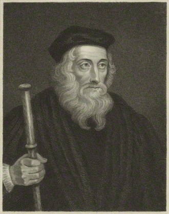 Robert de Faryngton - John Wycliffe, with whom de  Faryngton disputed the right to a benefice.