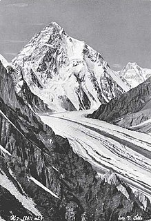 1939 American Karakoram expedition to K2 Failed attempt to climb second-highest mountain