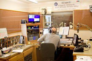 KLCC (FM) - KLCC-FM Booth