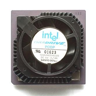 Pentium OverDrive - Pentium Overdrive for Socket 4, 120/133 MHz.
