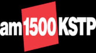 "KSTP (AM) - KSTP's final logo as news/talk station ""AM 1500 KSTP"", used until April 12, 2010; it was retained for the first two months as a sports station."