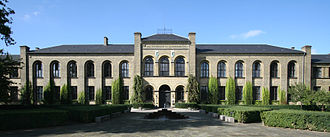 Bülowsvej - The main building of University of Copenhagen's Frederiksberg Campus