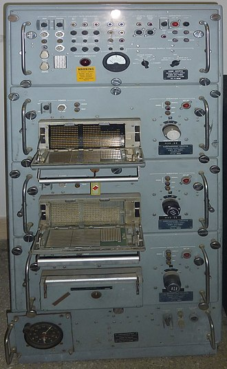 KW-37 - KW-37 transmitter on display at the Naval History museum at La Spezia, Italy.