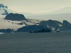 Kabile Island - Kabile Island from English Strait
