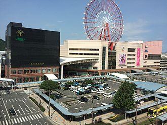 Kagoshima-Chūō Station - Kagoshima-Chūō Station in September 2014