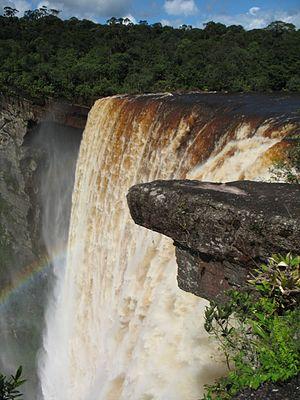 Kaieteur Falls - Image: Kaieteur falls
