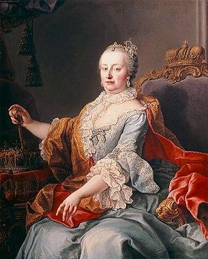 Maria Theresa - Portrait by Martin van Meytens, 1759