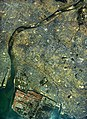 Kakogawa city center area Aerial photograph.1985.jpg