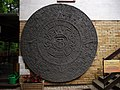 Kalendarz Azteków w zbiorach muzem Arkadego Fiedlera w Puszczykowie - panoramio.jpg