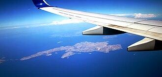 Kalymnos - Kalymnos Island from air