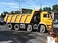 KamAZ-6540 truck on Mickiewicza and Piłsudskiego intersection in Kraków.jpg