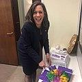 Kamala Harris with a King cake.jpg