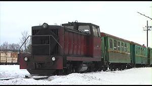 Каринская узкоколейная железная дорога — Википедия