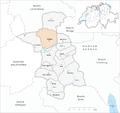 Karte Gemeinde Küttigen 2007.png