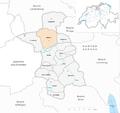 Karte Gemeinde Küttigen 2010.png