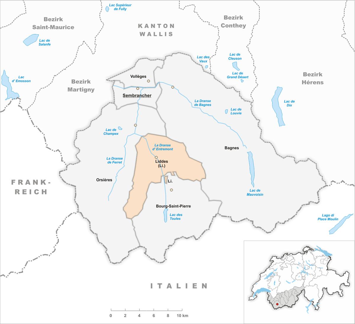 Plan Ville Saint Affrique