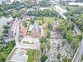 Kartuzy carthusian monastery aerial photograph 2019 P04.jpg