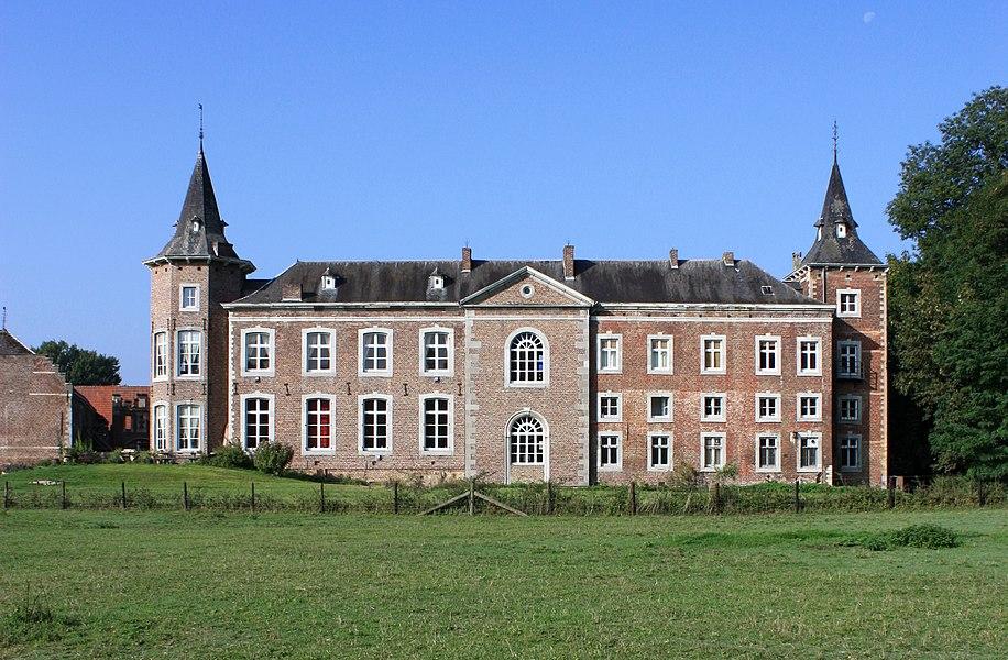 Kasteel van Nieuwenhoven, hoofdgebouw.