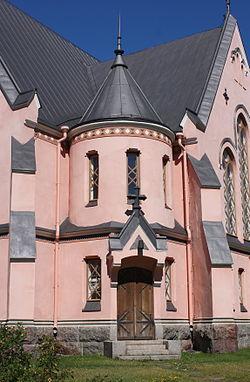 Kemi Church Sidedoor 20100715.JPG
