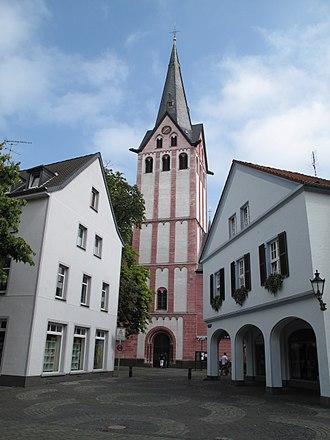 Kempen, Germany - Image: Kempen, kerk foto 1 2009 08 16 13.35