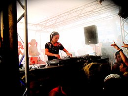 Ken Ishii at Maniac Beach 20070819.jpg