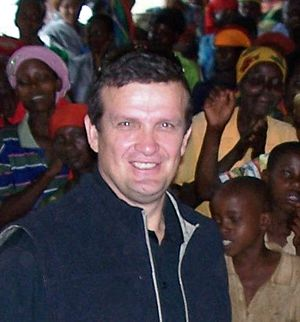 Ken Rutherford (political scientist) - Kenneth Rutherford on a visit to Burundi, May 2010.