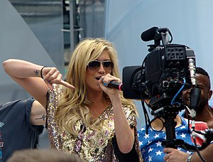 Animal (Kesha album) - Kesha at 2010 MuchMusic Video Awards soundcheck on June 20, 2010