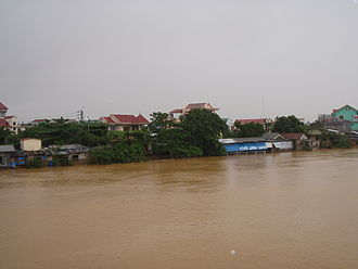 Typhoon Ketsana - Flooding in Huế, Vietnam, from Typhoon Ketsana