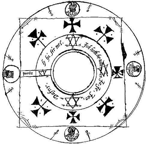 File:Key of Solomon magic circle jpg - Wikimedia Commons