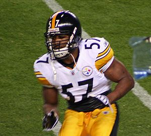 Keyaron Fox - Fox with the Steelers in 2009.